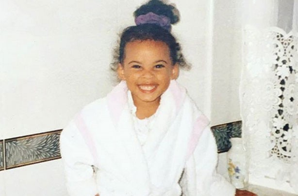 Rochelle Humes, celebs as kids