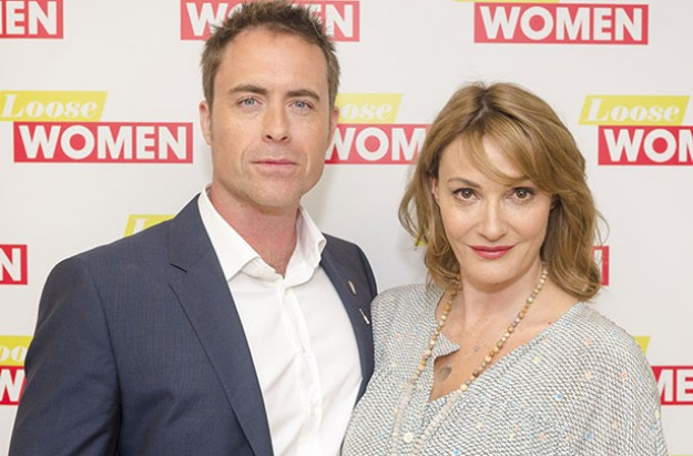 Sarah Parish and James Murray