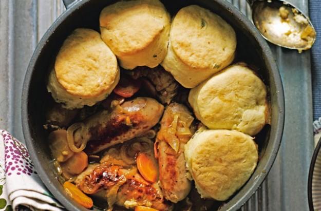 Sausage cobbler recipe