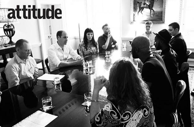 Prince William, Attitude magazine