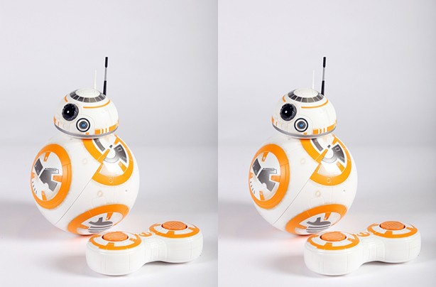 top christmas toys 2016 BB-8 by Hasbro