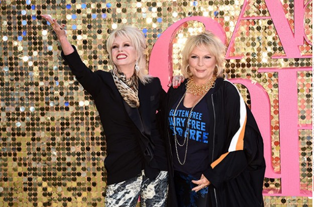 Joanna Lumley and Jennifer Saunders Absolutely Fabulous