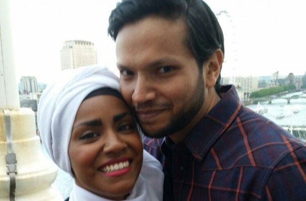 Nadiya Hussain and husband