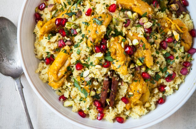 Hairy Bikers' cauliflower and chicken pilaf