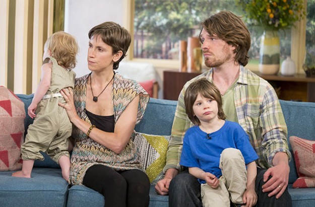parents interview this morning live child wees pees accident