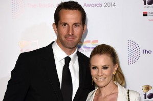 Sir Ben Ainslie and Georgie Thompson