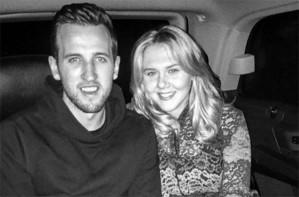Harry Kane and Kate Goodland