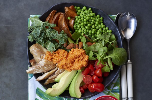 Detox and glow Buddha bowl