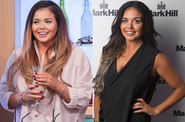 Scarlett Moffatt shows off weight loss