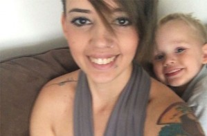 Lacey breastfeeding