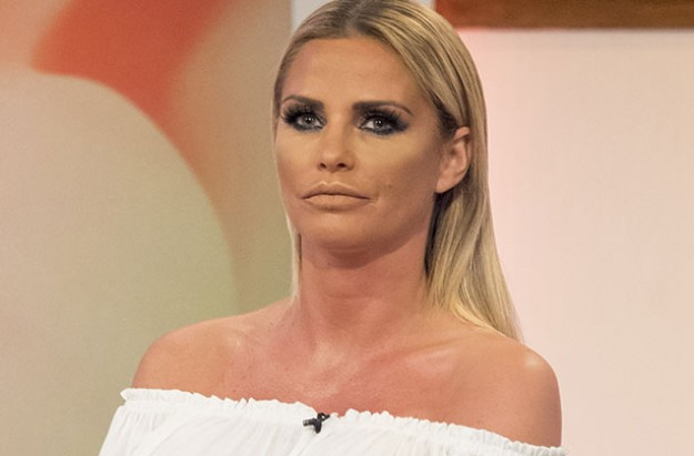 Katie Price, Loose Women, August 2016