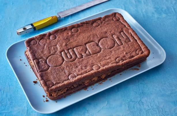 Giant Bourbon biscuit