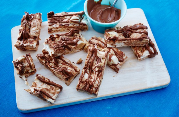 Kinder Bueno marshmallow bars