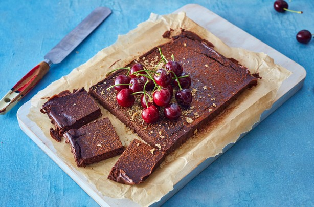 Low-calorie Weetabix chocolate brownies