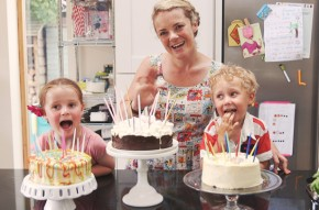 Three ways to decorate cakes with kids