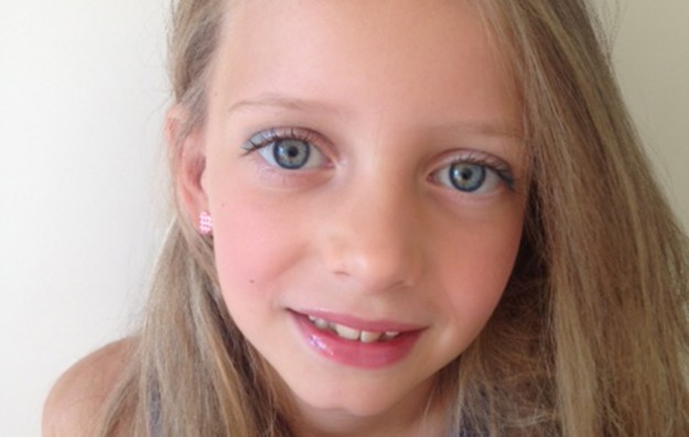 Why I let my 8-year-old daughter wear make-up
