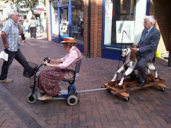 Brilliant grandparents