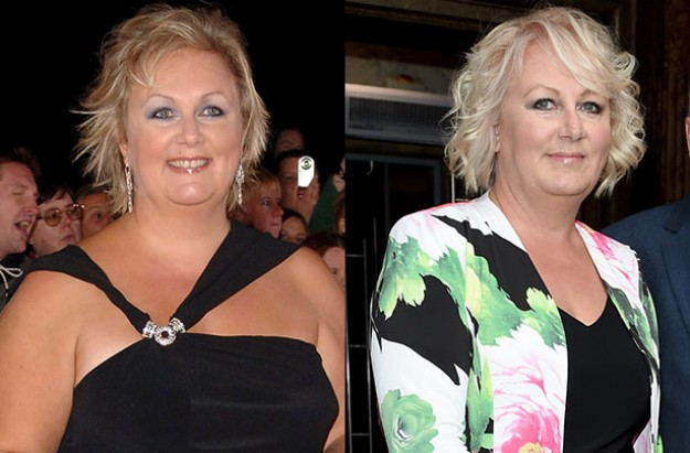 Sue Cleaver shows off weight loss