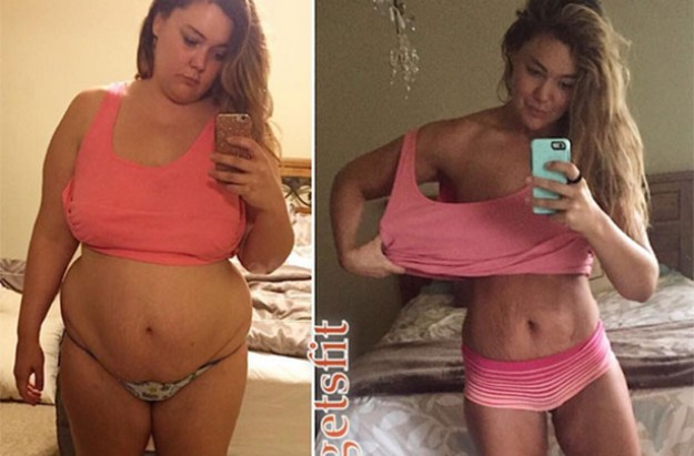 Justine McCabe weight loss