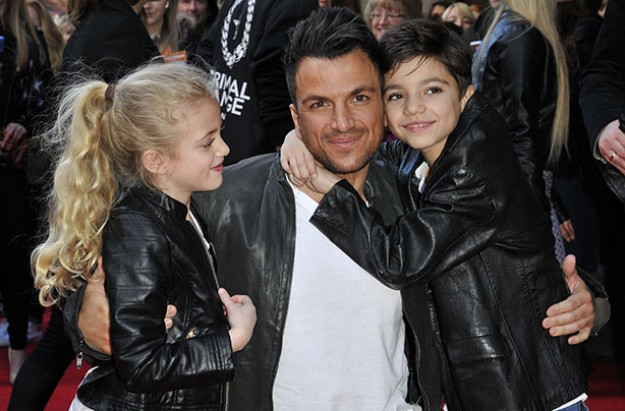 Peter Andre compromises over parenting
