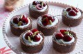 Fearne Cotton mini coconut and cherry tarts