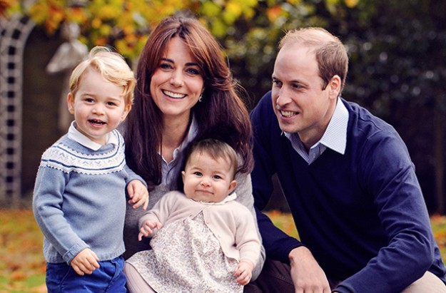william kate charlotte george