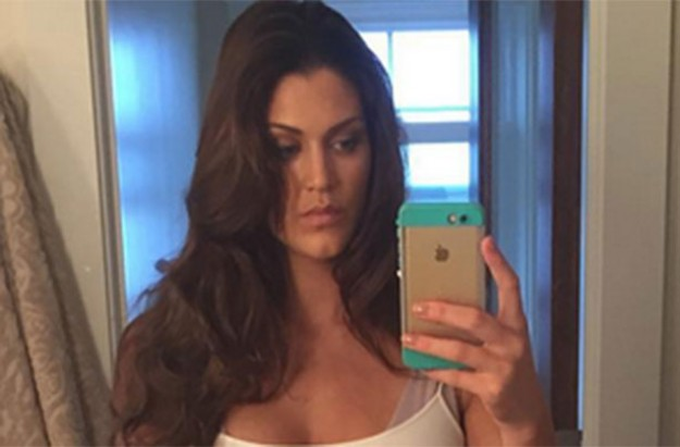 Eve Torres, WWE, post baby body selfie