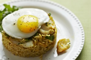Kedgeree stacks