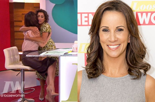 loose women hysterectomy andrea mclean