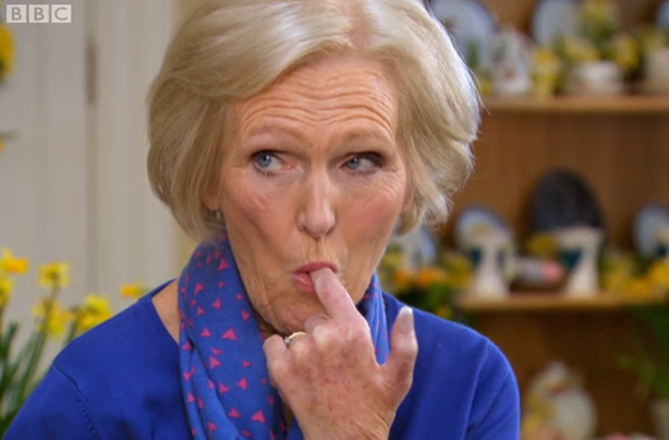10 times mary berry was one seriously saucy minx goodtoknow for Mary berry uk
