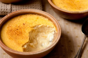 Baked egg custard recipe