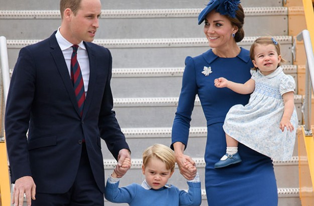 Prince William, Kate Middleton, Prince George, Princess Charlotte Canada tour 2016
