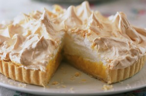 Quick lemon meringue pie