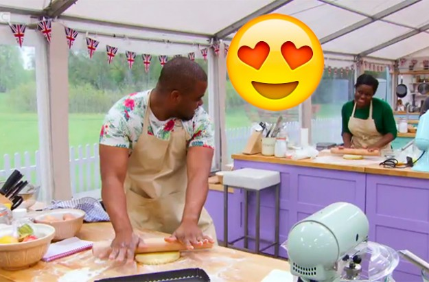 great british bake off couple