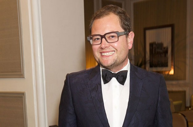 Alan Carr engaged