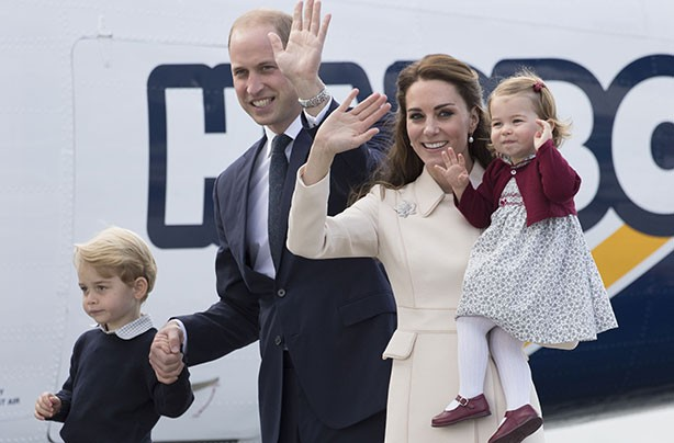Prince William, Kate Middleton, Prince George, Princess Charlotte, Canadian royal tour