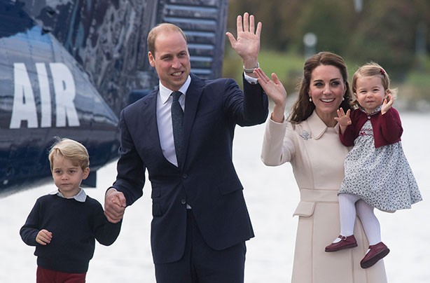 Prince William, Kate Middleton, Prince George, Princess Charlotte, Canadian royal tour