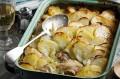 Leftover chicken bake
