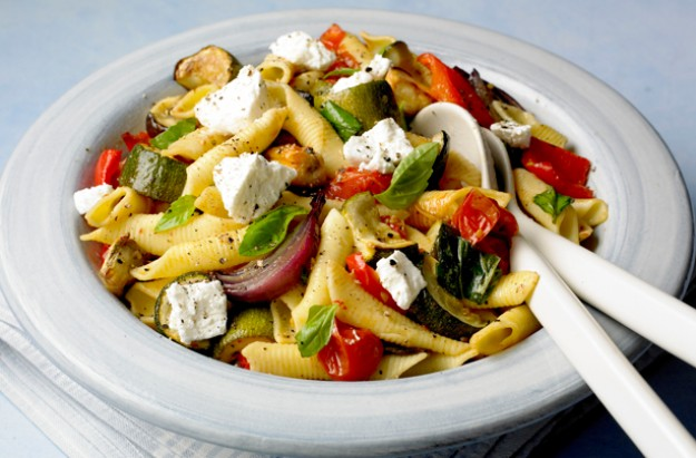 Roasted ratatouille pasta