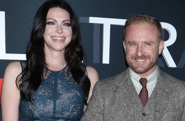 Laura Prepron and Ben Foster