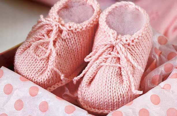 Knitted Baby Patterns Free Online : Free knitting patterns - Free knitting patterns UK: Baby booties knitting pat...