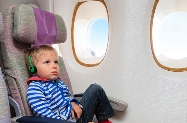 Child free zones on planes