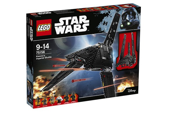 top christmas toys 2016 LEGO Star Wars Krennics Imperial Shuttle 75156