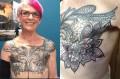 Art teacher's tattoo