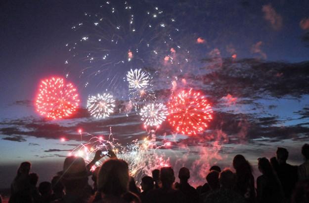 Fireworks displays Midlands 2016