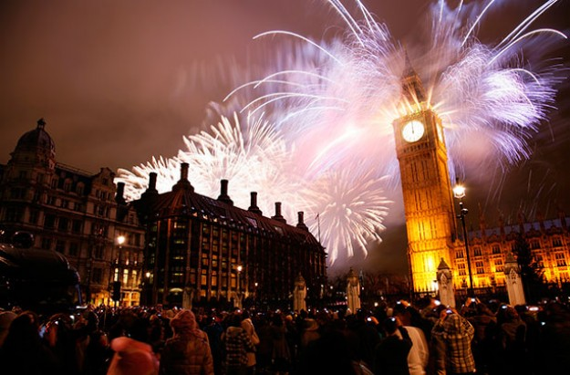 Fireworks London 2016