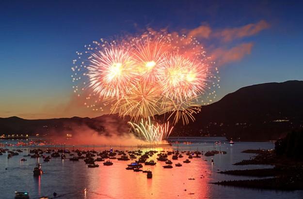 Firework displays Scotland 2016