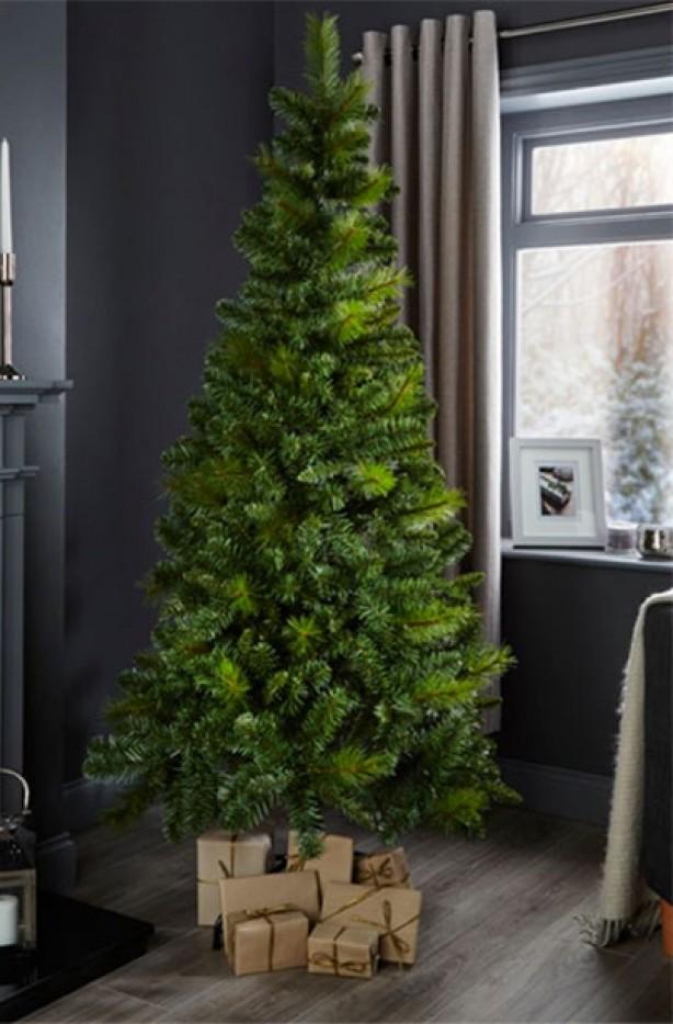 Cheap Artificial Christmas trees, £30, B&Q