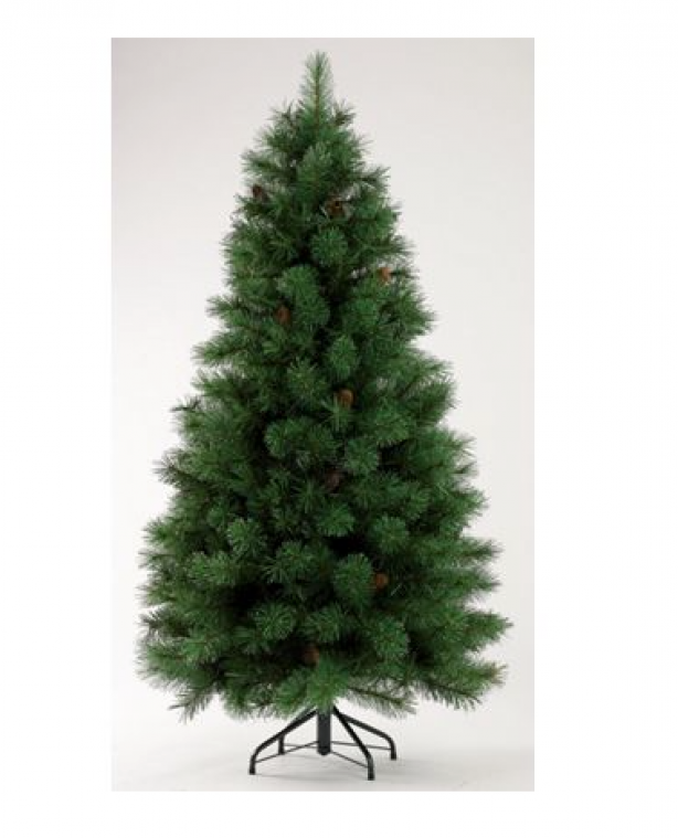 Cheap Artificial Christmas tree, £50, Homebase
