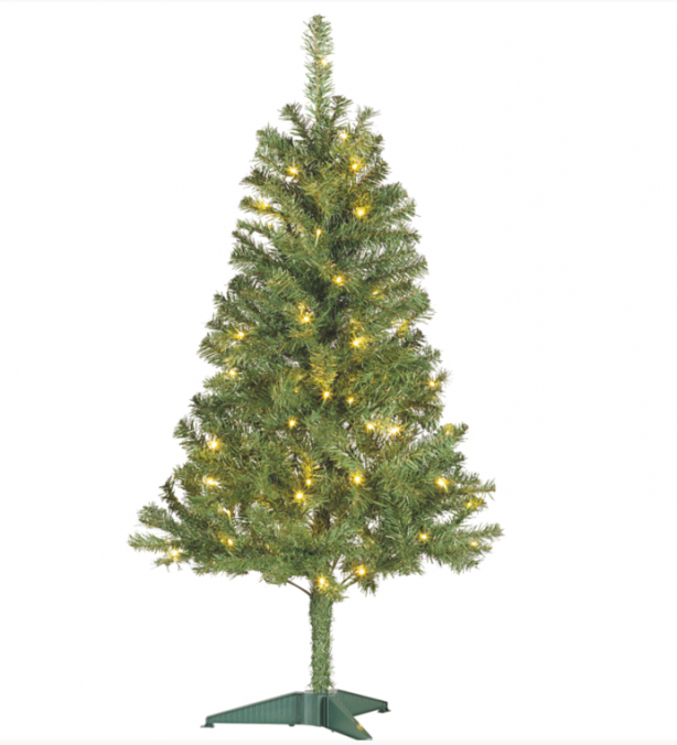 Cheap Artificial Christmas tree, �5, Asda